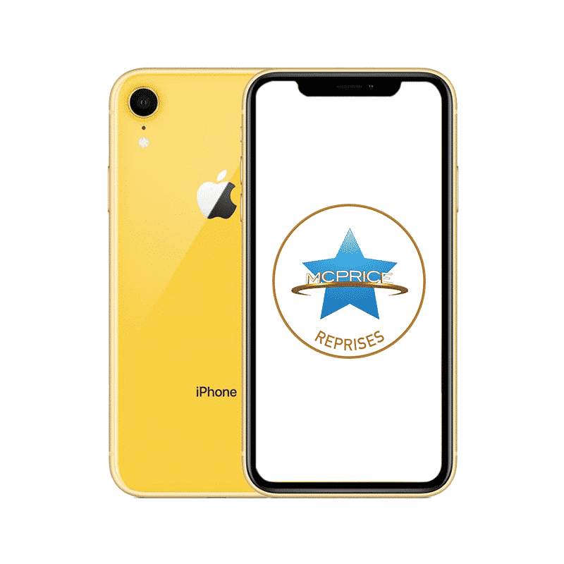 Reprise Apple iPhone XR 64 Go (Déverrouillé) - Jaune | McPrice Paris Trocadero