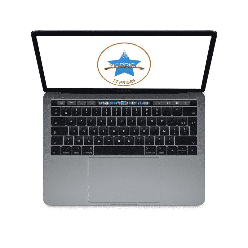 Reprises Apple MacBook Pro 13 Pouces Retina Touch Bar 2,3GHz/i5/8Go/256 Go SSD - Gris Sidéral | McPrice Paris Trocadéro