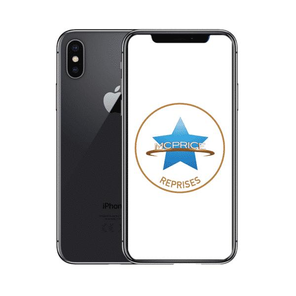 Reprises Apple iPhone X 64 Go (Déverrouillé) - Gris Sidéral | McPrice Paris Trocadero