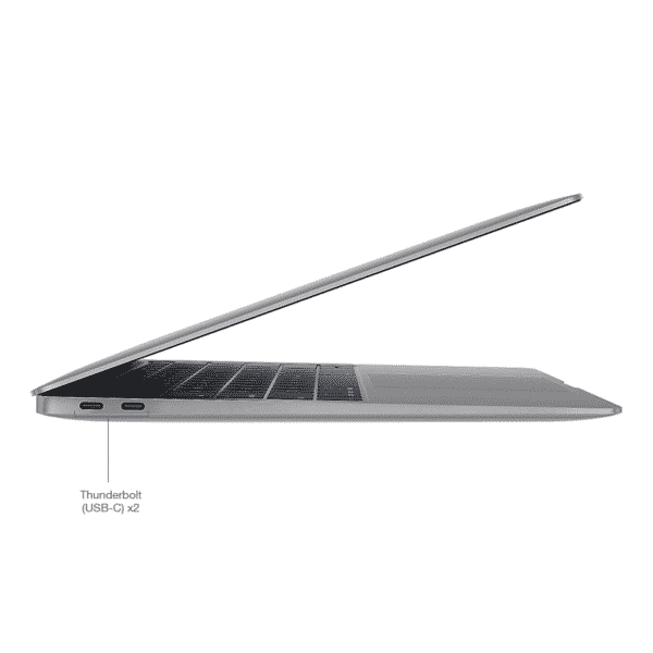 Apple MacBook Air 13 Pouces Retina 1,6GHz/i5/8Go/256Go SSD - Gris Sidéral | McPrice Paris Trocadero