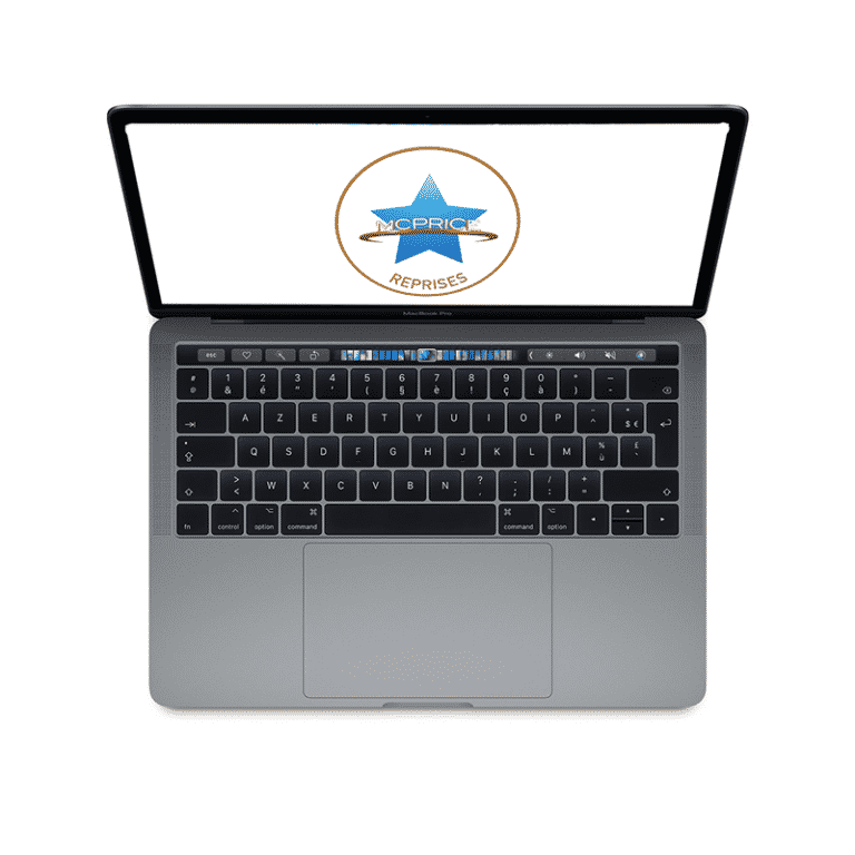Reprise Apple MacBook Pro 15 Pouces Retina Touch Bar 2,3GHz/i7/16Go/512 Go SSD - Gris Sidéral   McPrice Paris Trocadero