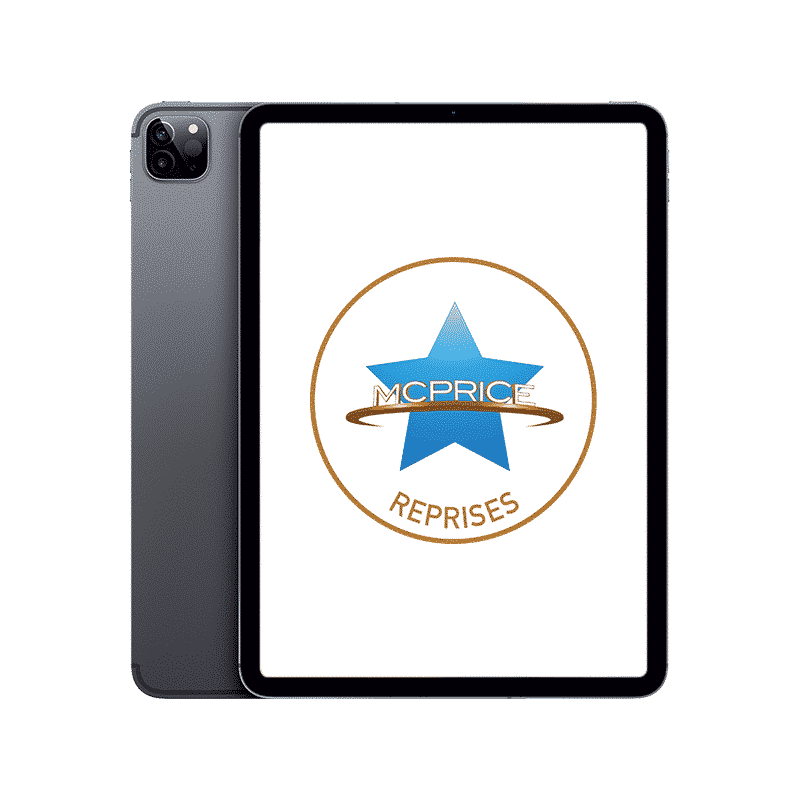 Reprises Apple iPad Pro 12,9 Pouces (4ème Génération) Wifi 128 Go - Gris Sidéral   McPrice Paris Trocadéro