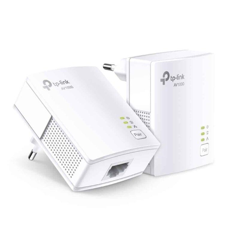 Adaptateur CPL TP-Link TL-PA7017 KIT (1000Mb) - Pack de 2 CPL | Accessoires Garantie 1 an | McPrice Paris Trocadéro