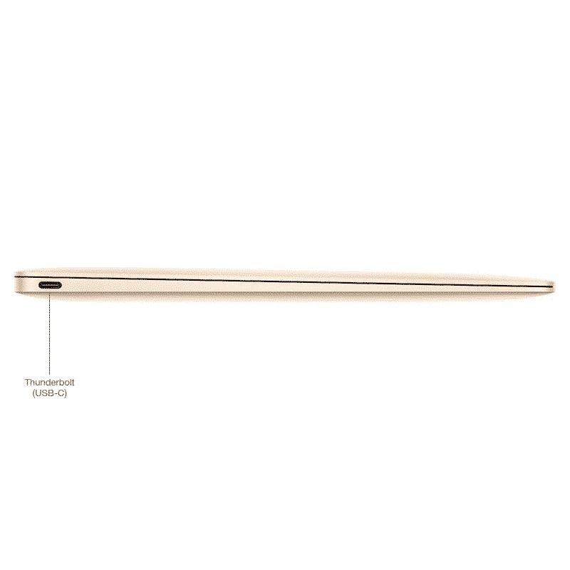 Apple Reconditionné MacBook 12 Pouces 1,2GHz/M3/8Go/512Go SSD - Gold   McPrice Paris Trocadéro