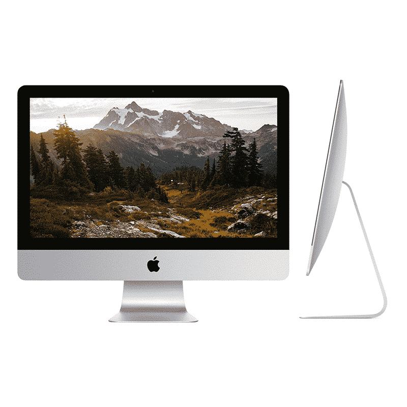 Reconditionnés Apple iMac 21,5 Pouces Quadricoeur i5 2,7GHz/16Go/256 Go SSD   McPrice Paris Trocadéro