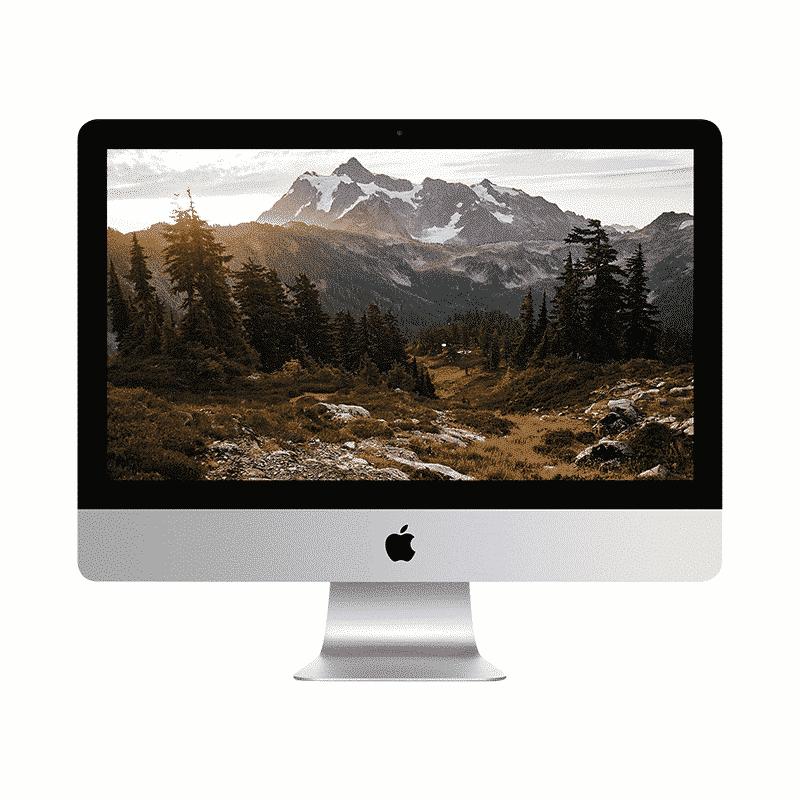 Apple iMac 21,5 Pouces Quadricoeur i5 2,9GHz/16Go/1 To HDD   McPrice Paris Trocadero