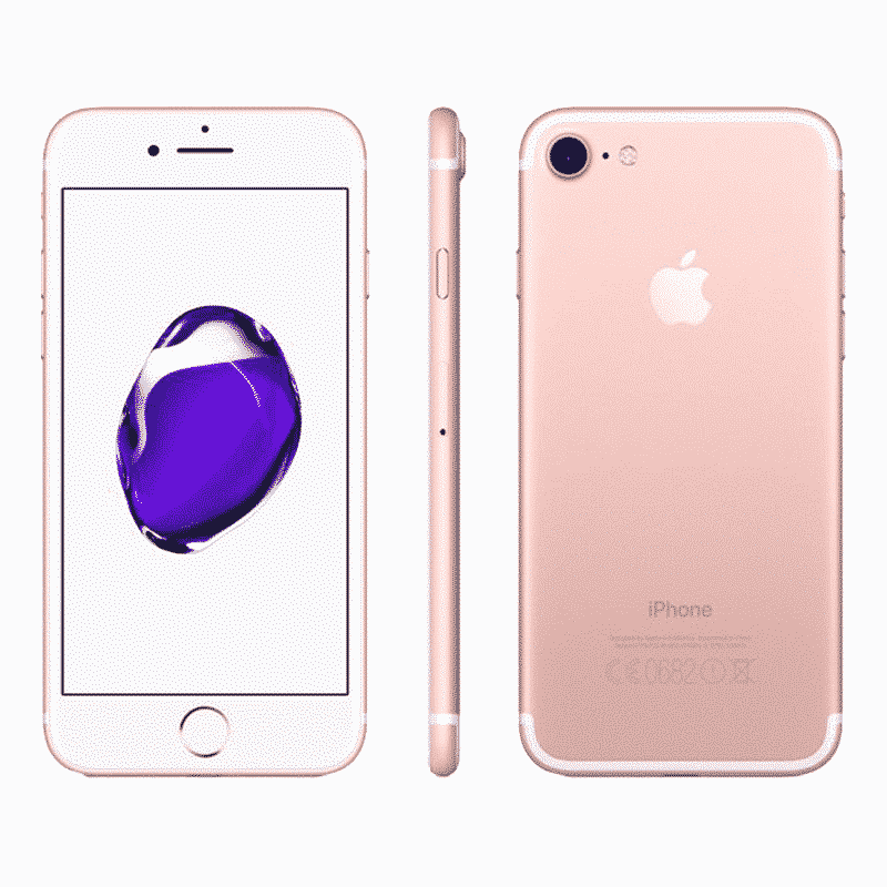 Apple iPhone 7 128 Go Rose- Reconditionné à Neuf Garantie 1 an en Stock | Trocadéro Paris
