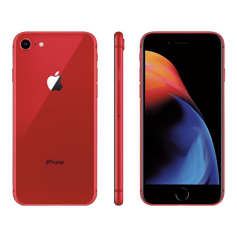 Apple iPhone 8 64 Go Rouge - Reconditionné à Neuf Garantie 1 an en Stock | Trocadéro Paris