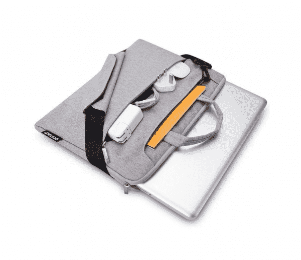 Sacoche POFOKO, Pour MacBook Pro : Air Retina 13 Pouces – Gris | Accessoires Garantie 1 an | McPrice Paris Trocadéro v2