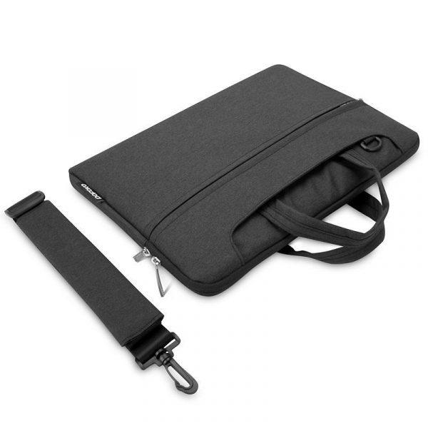 Sacoche POFOKO, Pour MacBook Pro : Air Retina 13 Pouces – Noir | Accessoires Garantie 1 an | McPrice Paris Trocadéro v4