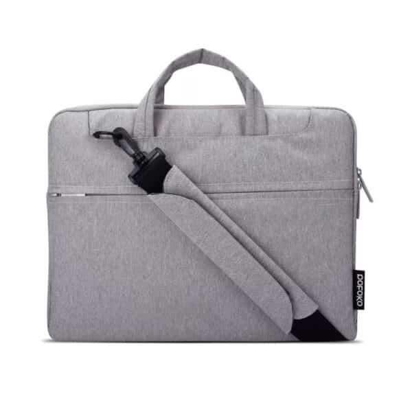 Sacoche POFOKO, Pour MacBook Pro Retina 15,4 Pouces – Gris | McPrice Paris Trocadéro