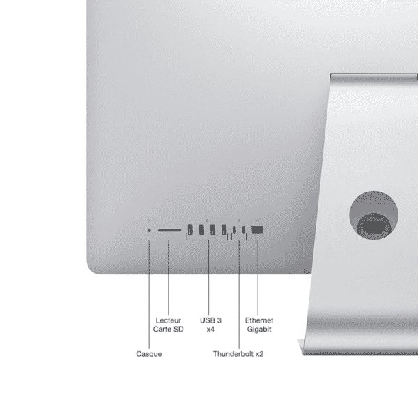 Apple iMac 21,5 Pouces Hexacœur i5 3,0GHz/8Go/1 To FusionDrive/ATI Radeon Pro 560X avec 4 Go | McPrice Paris Trocadéro v3