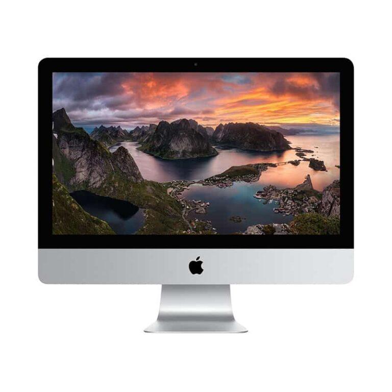 Apple iMac 21,5 Pouces Hexacœur i5 3,0GHz:8Go:1 To FusionDrive:ATI Radeon Pro 560X avec 4 Go | McPrice Paris Trocadéro