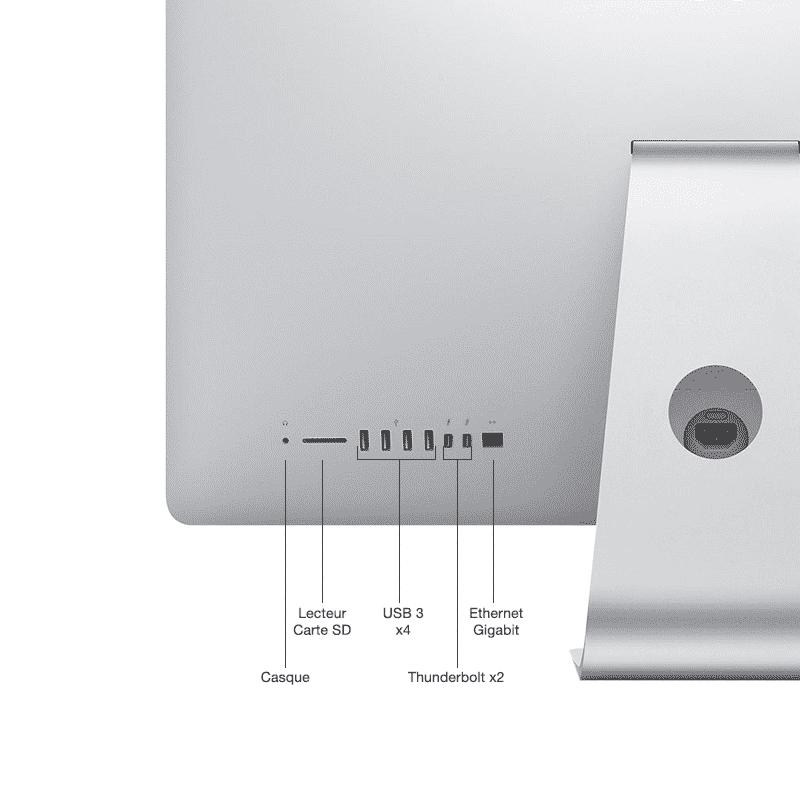 Apple iMac 27 Pouces Reconditionné 5K Quadricœur i5 3,3GHz 8Go 1 To HDD AMD Radeon R9 M290 avec 2 Go | McPrice Paris Trocadéro