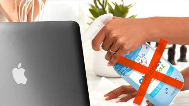 Blog- nettoyage écran MacBook