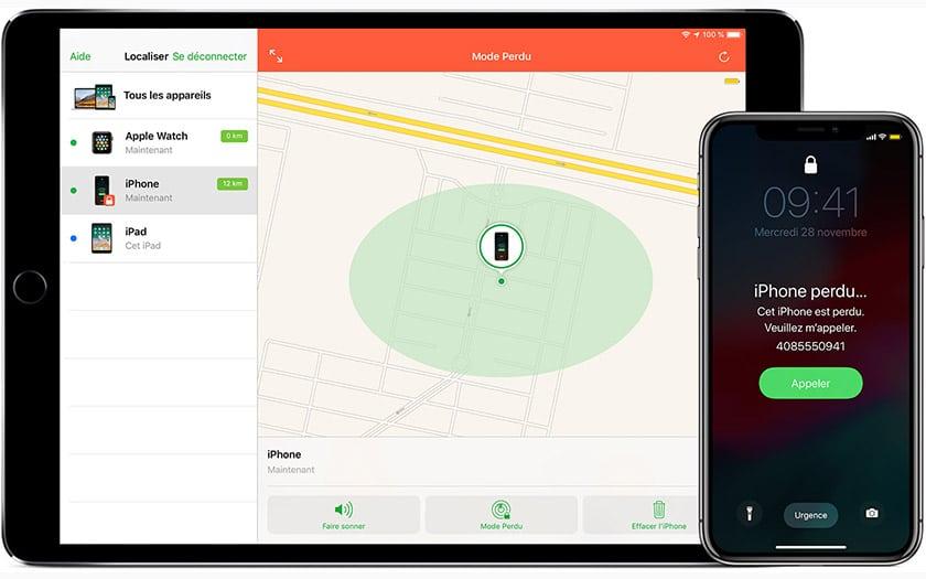 Comment localiser un iPhone perdu ou volé ? McPrice Blog Apple Paris Trocadero