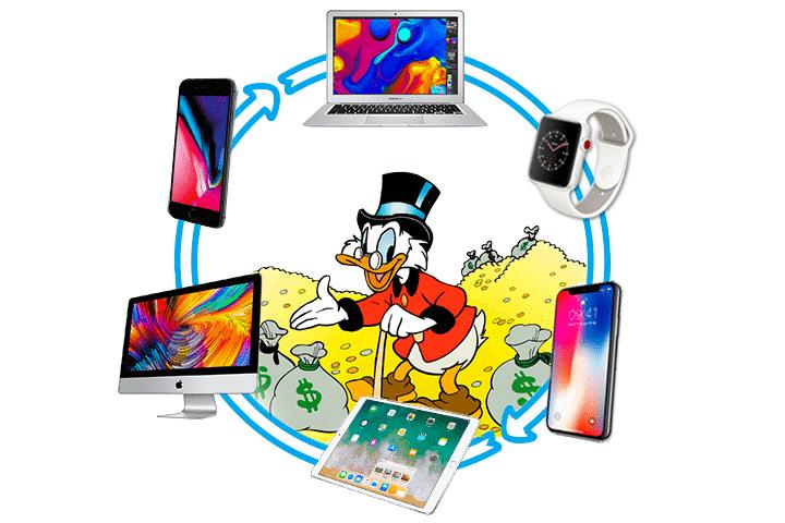 Blog - Reprise de votre Appareil Apple contre du cash | McPrice Paris Trocadéro