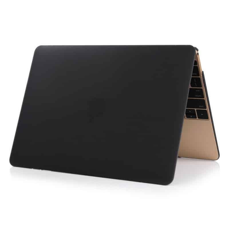 Coque de protection intégrale rigide mate pour MacBook 12 Pouces A1534 - Noire | McPrice Paris Trocadéro