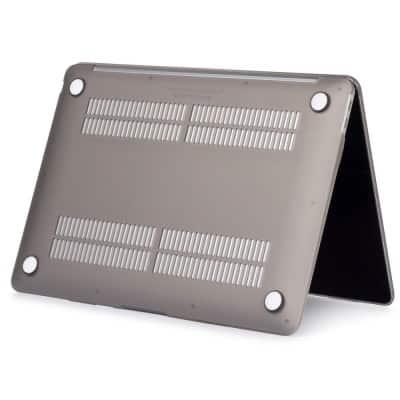 Coque de protection intégrale rigide mate pour MacBook Air 13 Pouces A1932 - Grise   McPrice Paris Trocadéro
