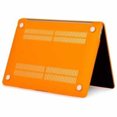 Coque de protection intégrale rigide mate pour MacBook Air 13 Pouces A1932 - Orange | McPrice Paris Trocadéro