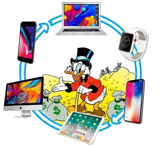 Blog - Echange produits Apple contre du Cash - Reprise | McPrice Trocadéro