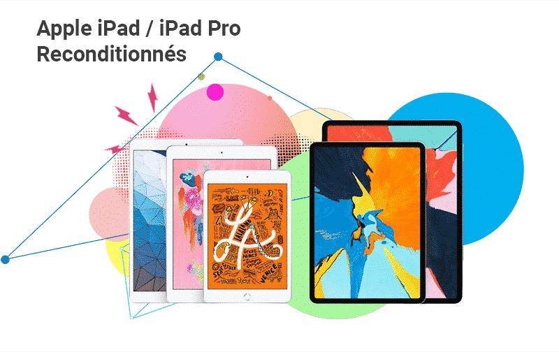 Offre du Moment iPad Reconditionnés | McPrice Paris Trocadéro