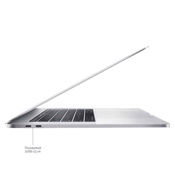 Apple MacBook Pro Silver 2016 à 2019 Retina Touch Bar 15 Pouces McPrice Paris Trocadero v2