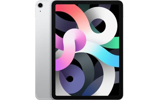 Apple iPad Air (2020) 10,9 pouces 256 Go Wi-Fi + Cellular - Argent - Neuf Garantie 1 an en Stock   McPrice Paris Trocadéro