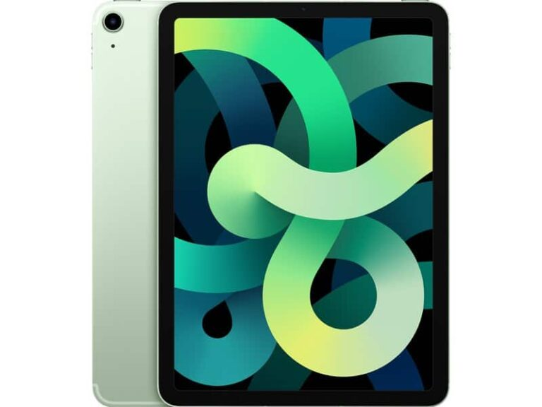 Apple iPad Air (2020) 10,9 pouces 256 Go Wi-Fi + Cellular - Vert - Neuf Garantie 1 an en   McPrice Paris Trocadéro