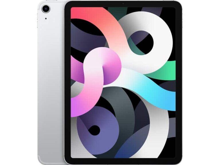 Apple iPad Air (2020) 10,9 pouces 64 Go Wi-Fi + Cellular - Argent - Neuf Garantie 1 an en Stock   McPrice Paris Trocadéro