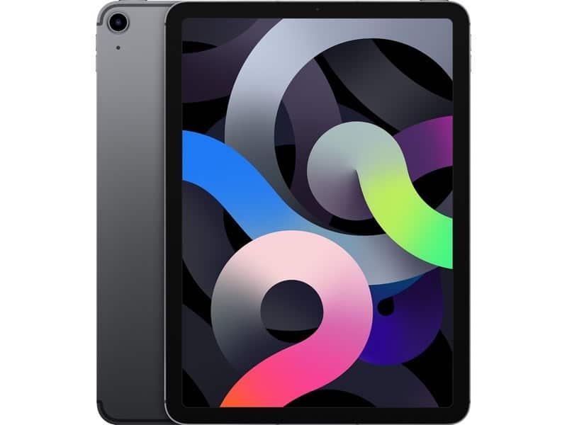 Apple iPad Air (2020) 10,9 pouces 64 Go Wi-Fi + Cellular - Gris Sidéral - Neuf Garantie 1 an en Stock | McPrice Paris Trocadéro