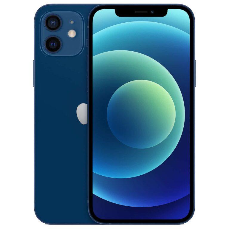 Apple iPhone 12 Mini 256 Go Bleu - Neuf Garantie 1 an en Stock   McPrice Paris Trocadéro