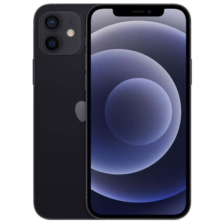 Apple iPhone 12 Mini 256 Go Noir - Neuf Garantie 1 an en Stock  McPrice Paris Trocadéro