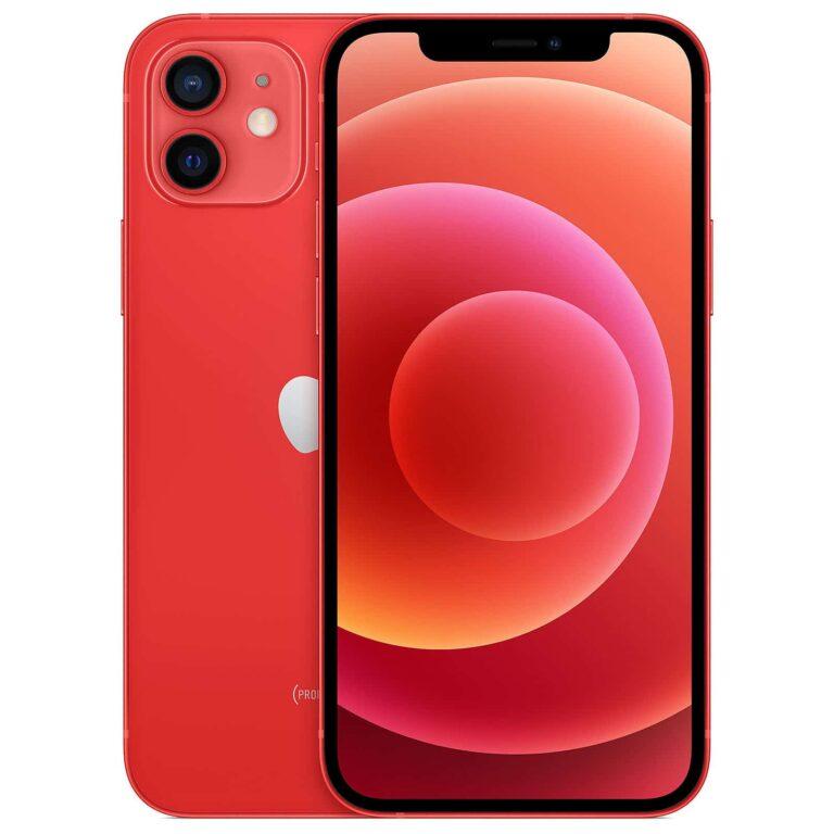 Apple iPhone 12 Mini 256 Go - (PRODUCT)RED - Neuf Garantie 1 an en stock   McPrice Paris Trocadéro