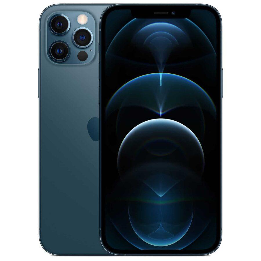 Apple iPhone 12 Pro 128 Go - Bleu Pacifique - Neuf Garantie 1 an en Stock   McPrice Paris Trocadéro