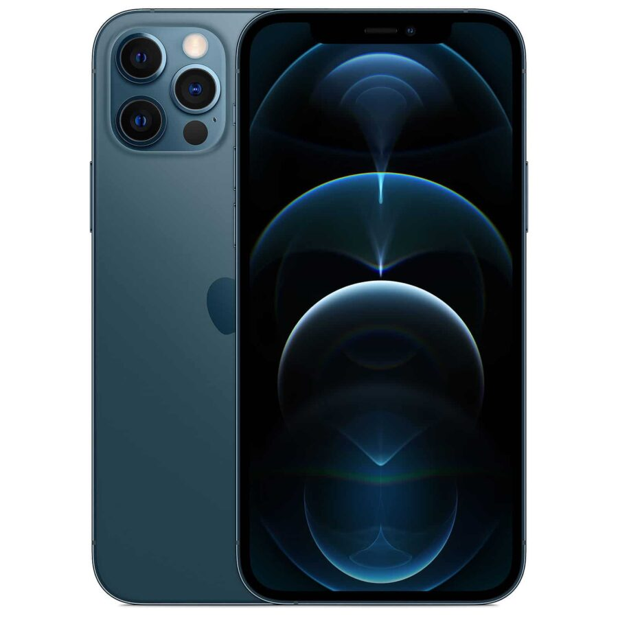 Apple iPhone 12 Pro Max 256 Go - Bleu Pacifique - Neuf Garantie 1 an en Stock | McPrice Paris Trocadéro