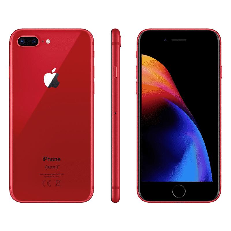 Apple iPhone 8 Plus 64 Go - Rouge   McPrice Paris Trocadéro