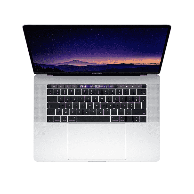MacBook Pro 2018 15 Pouces Argent McPrice Trocadero Paris