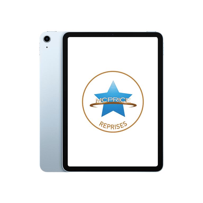 Reprise iPad Air 2020 256 Go Wifi + Cellular Bleu Ciel   McPrice Paris Trocadéro