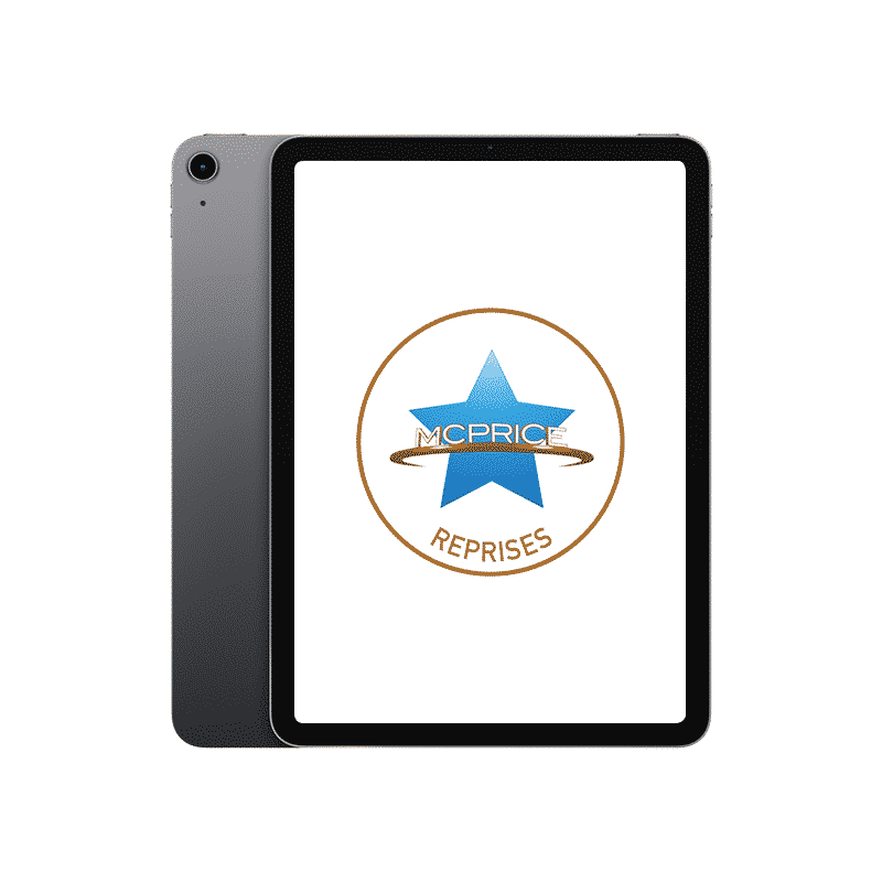 Reprise iPad Air 2020 64 Go Wifi + Cellular Gris Sidéral | McPrice Paris Trocadéro