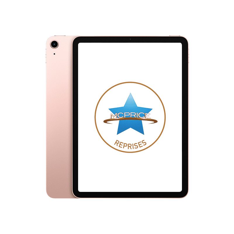Reprise iPad Air 2020 64 Go Wifi + Cellular Or Rose | McPrice Paris Trocadéro