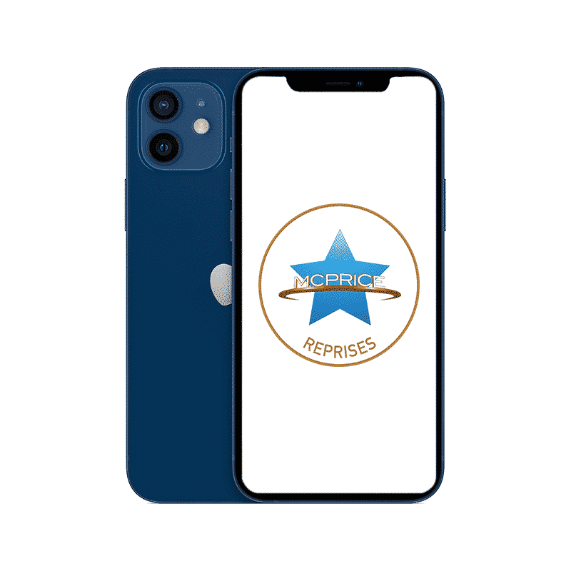 Reprise iPhone 12 128 Go Bleu | McPrice Paris Trocadero