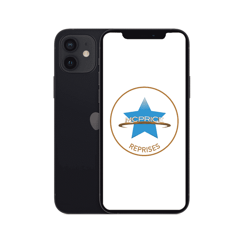 Reprise iPhone 12 128 Go Noir | McPrice Paris Trocadero