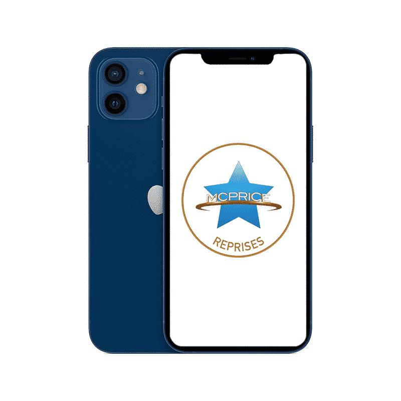 Reprise iPhone 12 64 Go Bleu   McPrice Paris Trocadero