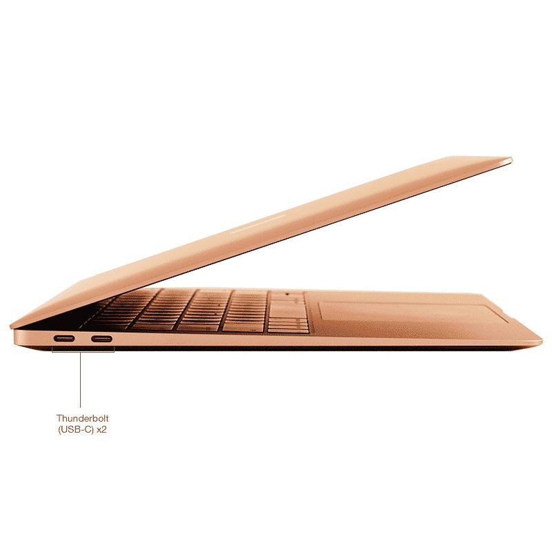 Apple MacBook Air 13 Pouces Puce Apple M1:8Go:512Go - Or - Neuf Garantie 1 an | McPrice Paris Trocadéro 2