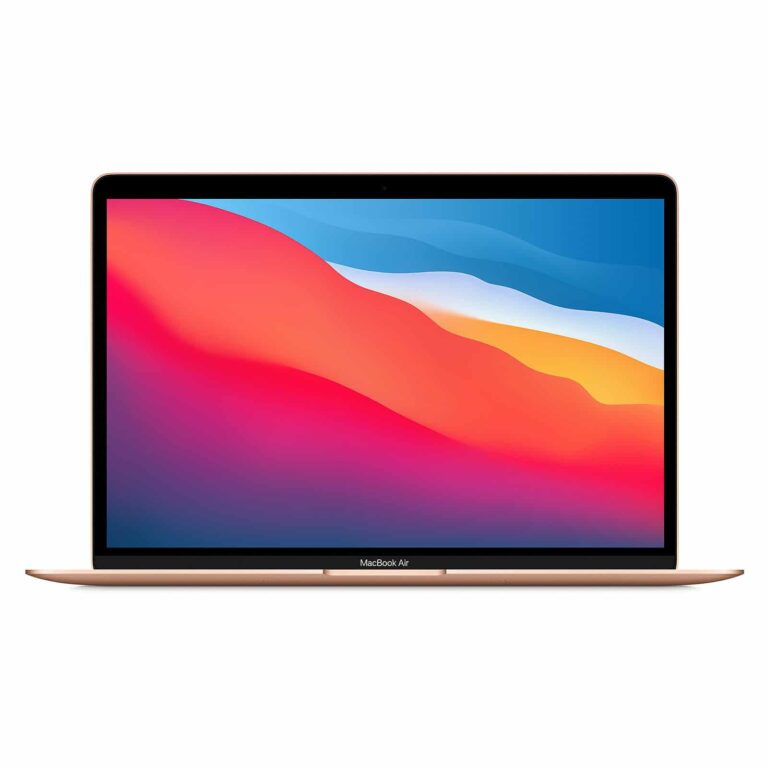 Apple MacBook Air 13 Pouces Puce Apple M1/8Go/512Go - Or - Neuf Garantie 1 an | McPrice Paris Trocadéro