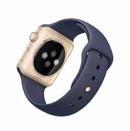 Apple Watch Series 1 Sport 42 mm Aluminium Or Bracelet Sport Bleu Nuit   McPrice Paris Trocadero v2
