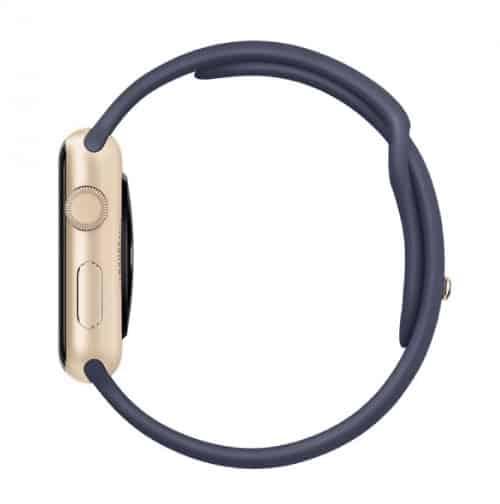 Apple Watch Series 1 Sport 42 mm Aluminium Or Bracelet Sport Bleu Nuit | McPrice Paris Trocadero v3