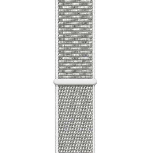Apple Watch Series 4 GPS - 44mm Boîtier en aluminium argenté avec boucle Sport Seashell   McPrice Paris Trocadero v3