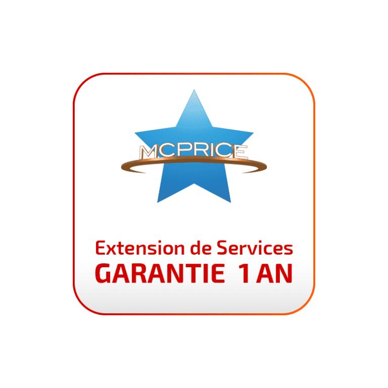 Extension de Garantie 1 an | McPrice Paris Trocadéro